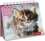 Für Katzenfreunde 2022: Tischkalender mit Wochenkalendarium