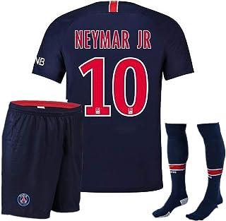 54a0ddad4 Neymar JR. 10  Paris Saint-Germain Soccer Jersey for Kids Youth PSG