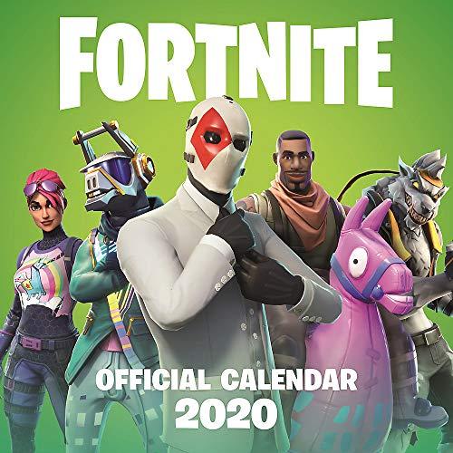 Games, E: FORTNITE Official 2020 Calendar