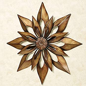 Touch of Class Starburst Wall Art Antique Gold