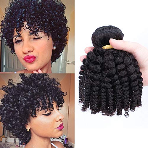 10 inch curly weave _image0