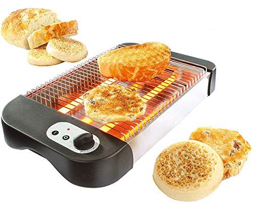 Grille-pain en acier inoxydable plat, Benne à Toaster Griller by RIVENBERT