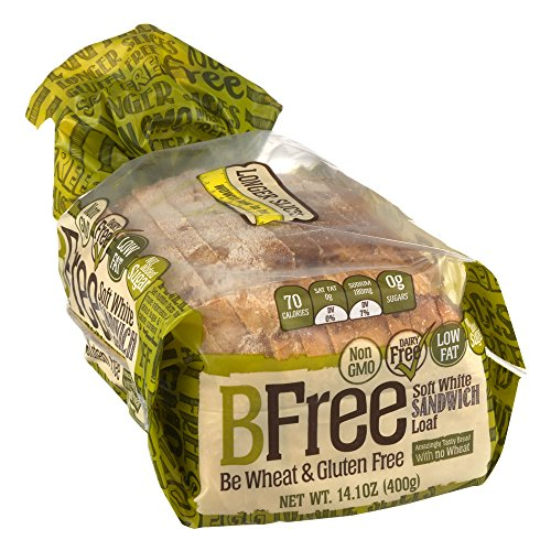 BFree Gluten Free Sandwich Bread, Soft White, 14.11 Ounce (Pack of 3)