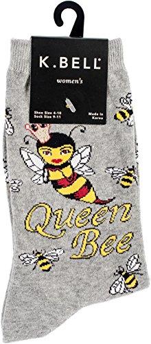 Women's Queen Bee Casual Crew Socks
