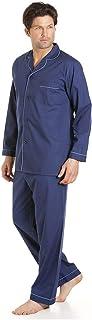 Haigman Classic Style Mens Full Length Pyjama Set XL Navy Blue