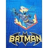 THEAILATI Gesteppte Tagesdecke Batman für Einzelbett.