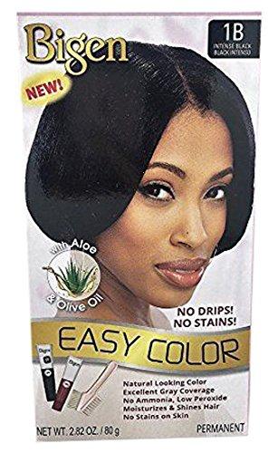 Bigen Easy Color Permanent Hair Dye With Aloe Olive Oil, Intense...