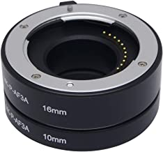 Mcoplus MK-P-AF3-A 10mm 16mm Automatic Extension Tube for Olympus Panasonic Micro 4/3 System Camera
