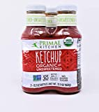 Primal Kitchen Organic Unsweetened Ketchup (3 x 11.3oz bottles)