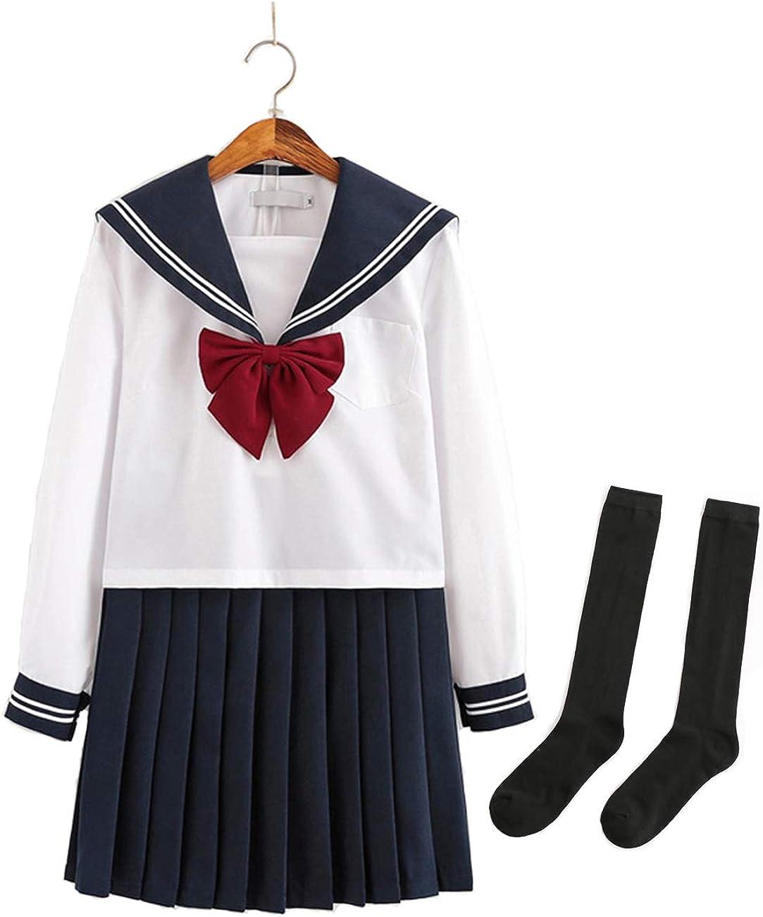 MSHDO Girl Limited time for free shipping JK Uniform Suit Suit. Student Japanese Regular store Sailor's