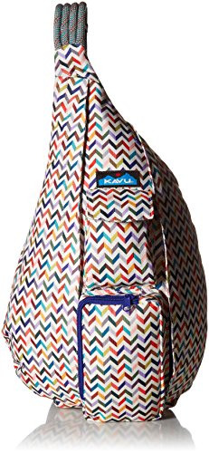 KAVU Women's Rope Sling Backpack, Taffy, One Size