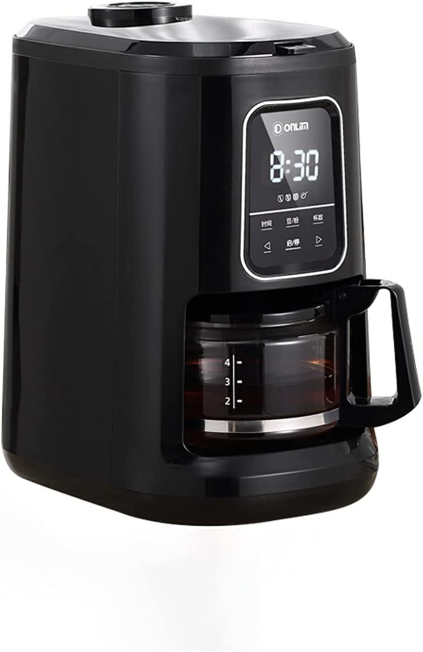 Grinding and Free Shipping Cheap Bargain Gift Brewing Automatic Drip Machine Ranking TOP15 Coffee 4-cup