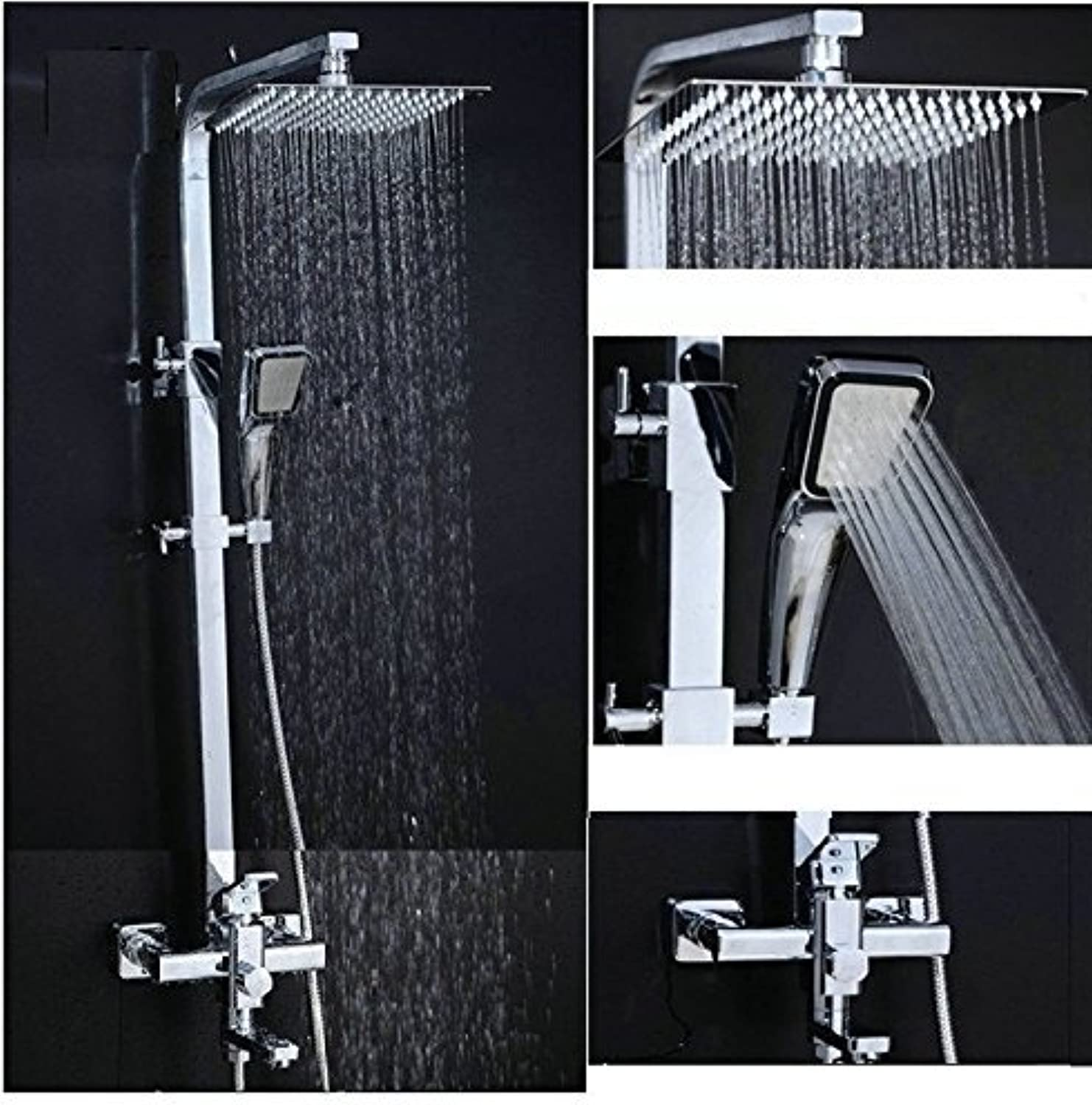 The Pure Copper Place Shower Combination Super Booster Shower Function Shower Sprinkler