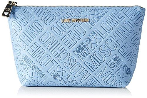 Love Moschino Love Moschino, Organizadores de bolso Mujer, Azul (Avio), 7x14x25 cm...