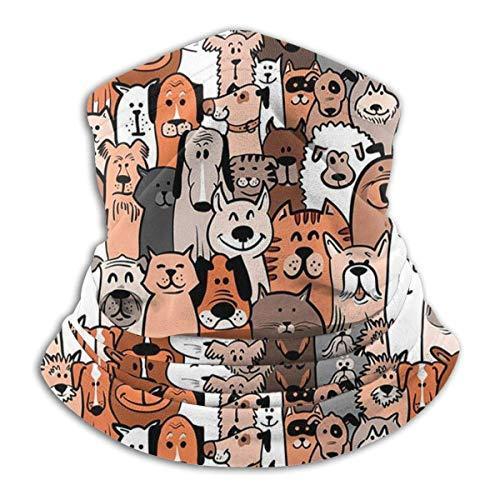 LENGDANU Beagle Herren & Damen Face Cover Bandana, Multifunktionstuch Stirnband Schal Neck Gaiter Tube Sturmhaube, Farbe 5, M