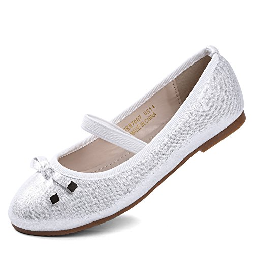 29 Primigi Bianco Ballerine Bambina Scarpe Bimba Eleganti Strappo 5418233B Argento
