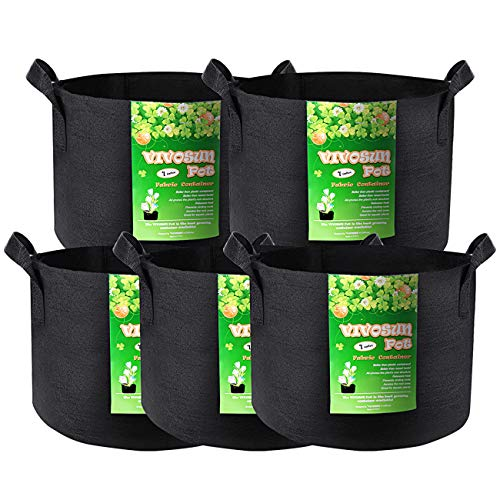 VIVOSUN 5 Best Fabric Grow Pots