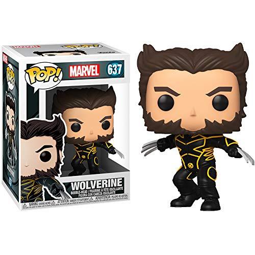 Pop Marvel X-Men 20th Anniversary Wolverine Logan Giacca Giacca Figura
