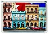 GIFTSTICY D101 Havana Imán para Nevera Cuba Travel Fridge Magnet