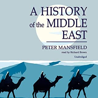 A History of the Middle East audiobook cover art