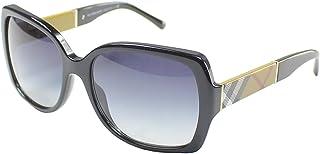 BURBERRY - 0BE4160 34338G 58 Gafas de Sol, Negro (Black/Grey Gradient), Mujer