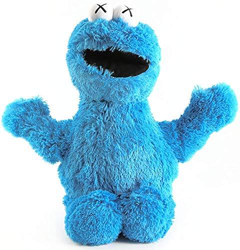 ADIE Plüschtier 45-52 cm 5 Arten Sesam Street Gefüllte Puppe Spielzeug ELMO Keks Bigbird Ernie Bert Figuren Weiche Plüsch Geschenk Dekorative Puppe (Farbe, Größe: 45 cm Ernie)