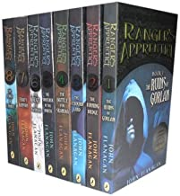 John Flanagan Rangers Apprentice 8 Books Collection Set. (The Siege of Macindaw, The Sorcerer of the North, The Ruins of Gorlan, The Burning Bridge, The Icebound Land, The Battle for Skandia, Eraks Ransom & The Kings of clonmel)