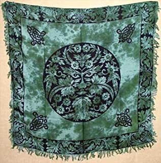Greenman 36 Altar/Tarot Cloth