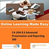 PTNR01A998WXY CA UIM 8.3 Advanced Presentation and Reporting 300 Online Certification Video Learning Made Easy