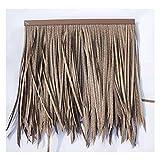 Simulazione di tegola di paglia Imitazione di plastica del tetto di paglia Imitazione di paglia di plastica dei capelli dell'erba dell'azienda agricola Decorazione di paglia PE di plastica di paglia f
