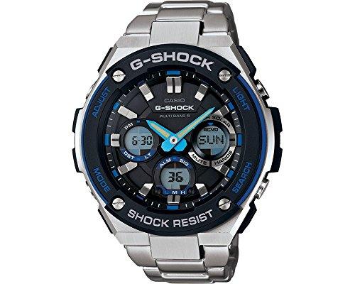 Casio GST-W100D-1A2ER - Reloj (Reloj de pulsera, Masculino, Resina, Acero inoxidable, Acero inoxidable, Acero inoxidable, Acero inoxidable)