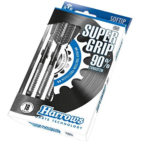 Harrows Super Grip Softtip-Dartpfeile aus 90% Wolfram