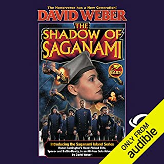 The Shadow of Saganami                   By:                                                                                                                                 David Weber                               Narrated by:                                                                                                                                 Jay Snyder                      Length: 30 hrs and 53 mins     72 ratings     Overall 4.5