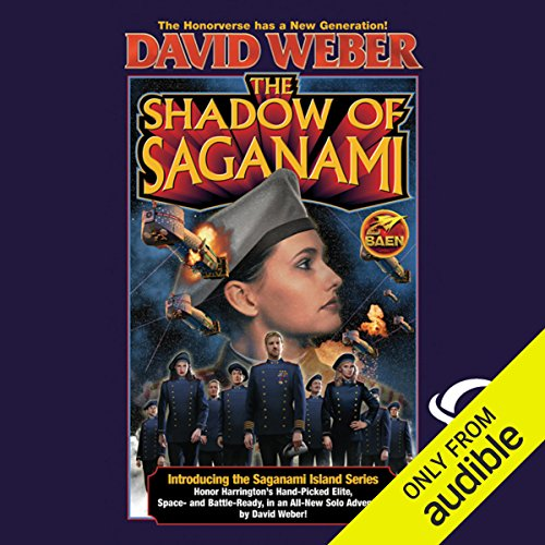 The Shadow of Saganami audiobook cover art