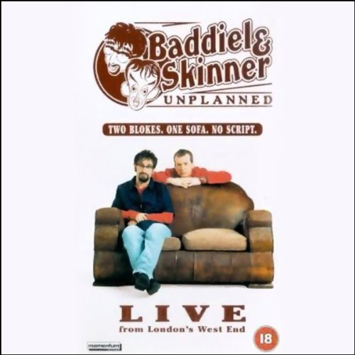 Baddiel & Skinner Unplanned Live from London's West End audiobook cover art
