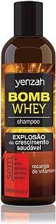 Shampoo Bomb Whey, Yenzah, Transparente