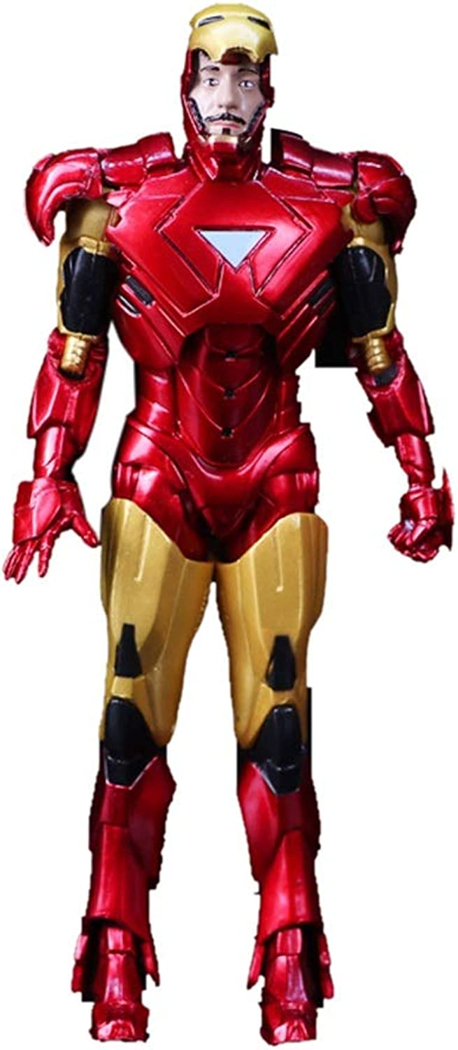 QARYYQ Toy Model Movie Character Avengers 3 Ornaments Souvenir Collectibles Crafts Iron Man 18cm Toys Model