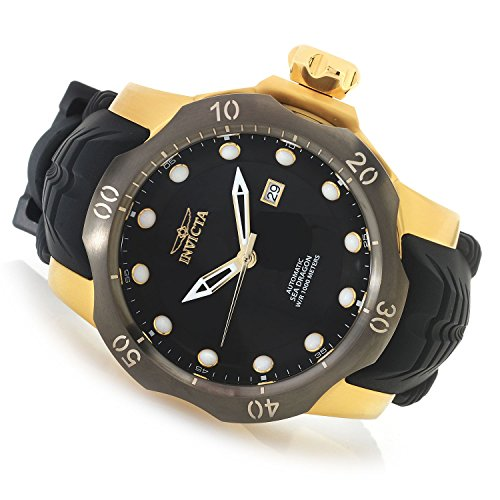 Invicta Men's 19316 Venom Analog Display Japanese Automatic Black Watch