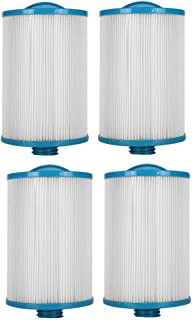 HLL Filter Cartridges LX-621 Spa Filter Pump Replacement Swimming Pool/Lay-Z-Spa/Hot Tubs (4Pack)