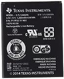 Texas Instruments N2BT/KT/B - Batteria di ricambio senza cavo per TI-Nspire CX e TI 84 Plus CE