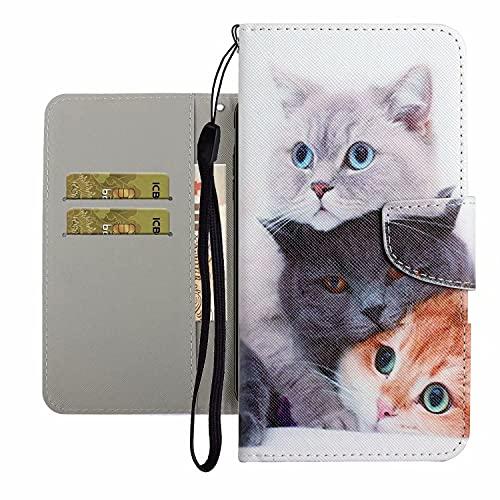 TYWZ Leuke Case voor Samsung Galaxy S20, PU Lederen Cover voor Meisjes Vrouwen Kleurrijke Ontwerp Portemonnee Stand…
