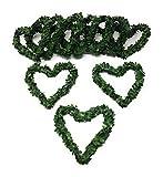 JB 10 Buchsbaumherzen in Grün mit einem Durchmesser von 10cm