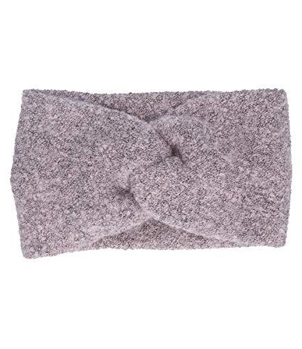 SIX Stirnband Rosa-Mix mit raffinierten Knoten-Design, winterliches Accessoire, Must-have (530-680)