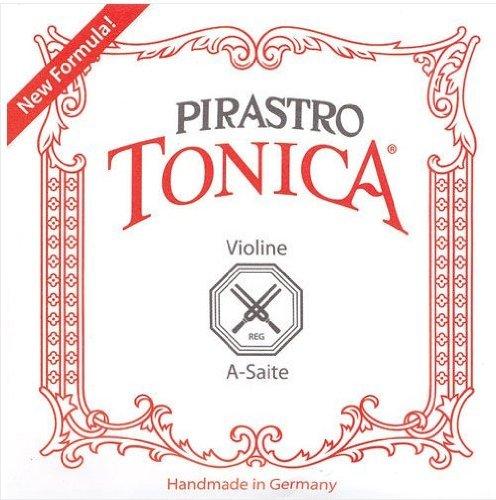 Pirastro Tonica - Set di corde per violino 4/4, calibro medio, con corda del Mi a sfera