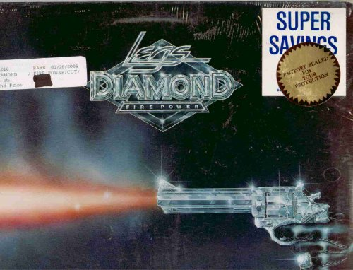 Legs Diamond ~ Fire Power (Original 1978 USA Cream Records 1010 LP Vinyl Album NEW Factory Sealed in the Original Shrinkwrap Featuring 10 Tracks)