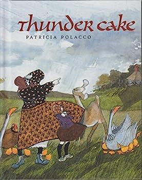 Library Binding Thunder Cake Book