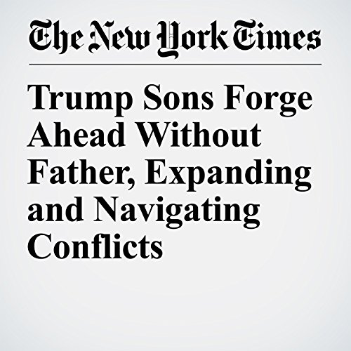 Trump Sons Forge Ahead Without Father, Expanding and Navigating Conflicts copertina