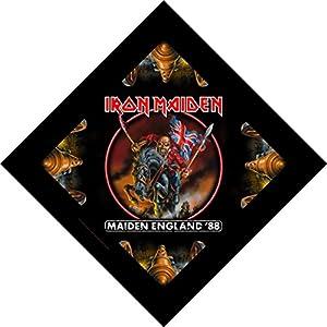 "Bandana Iron ""Maiden England '88"" World Tour Art Metal Music Band Head Kerchief"