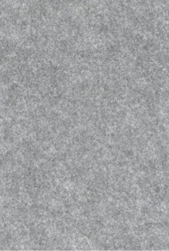 BUDILA® Bastelfilz grau meliert 100x44cm Meterware
