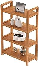 Multifunctional Kitchen Storage Rack Storage Shelf 3,4,5-Tier Kitchen Wood Pot Rack Microwave Oven Utensils Floor-Standing...